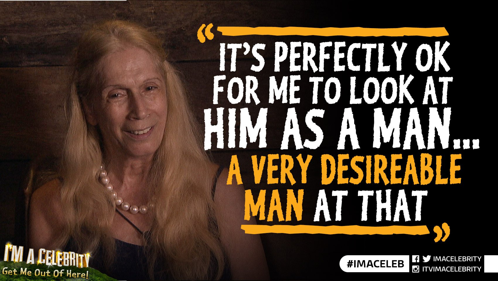 We should try and set up a double date... Lady C & @Cristiano and @VickyGShore & Kiosk Keith! #ImACeleb https://t.co/1e1Ahznnoj