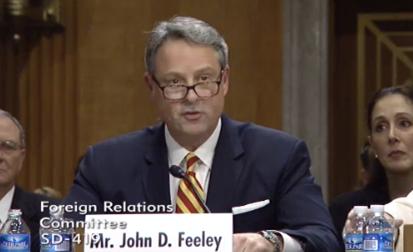 Image result for John Feeley, former U.S. ambassador