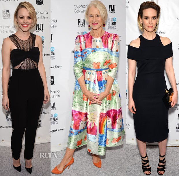 25th IFP Gotham Independent Film Awards Red Carpet Roundup   https://t.co/K9Hq1rP5fN https://t.co/SnPchrZAX2
