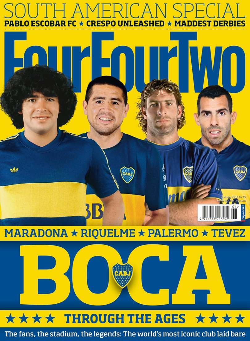NEW ISSUE South American special! Inside Boca, maddest derbies, Crespo #1on1 Out tomorrow https://t.co/KuHMMC4ndd https://t.co/7ZNdjVV6aT