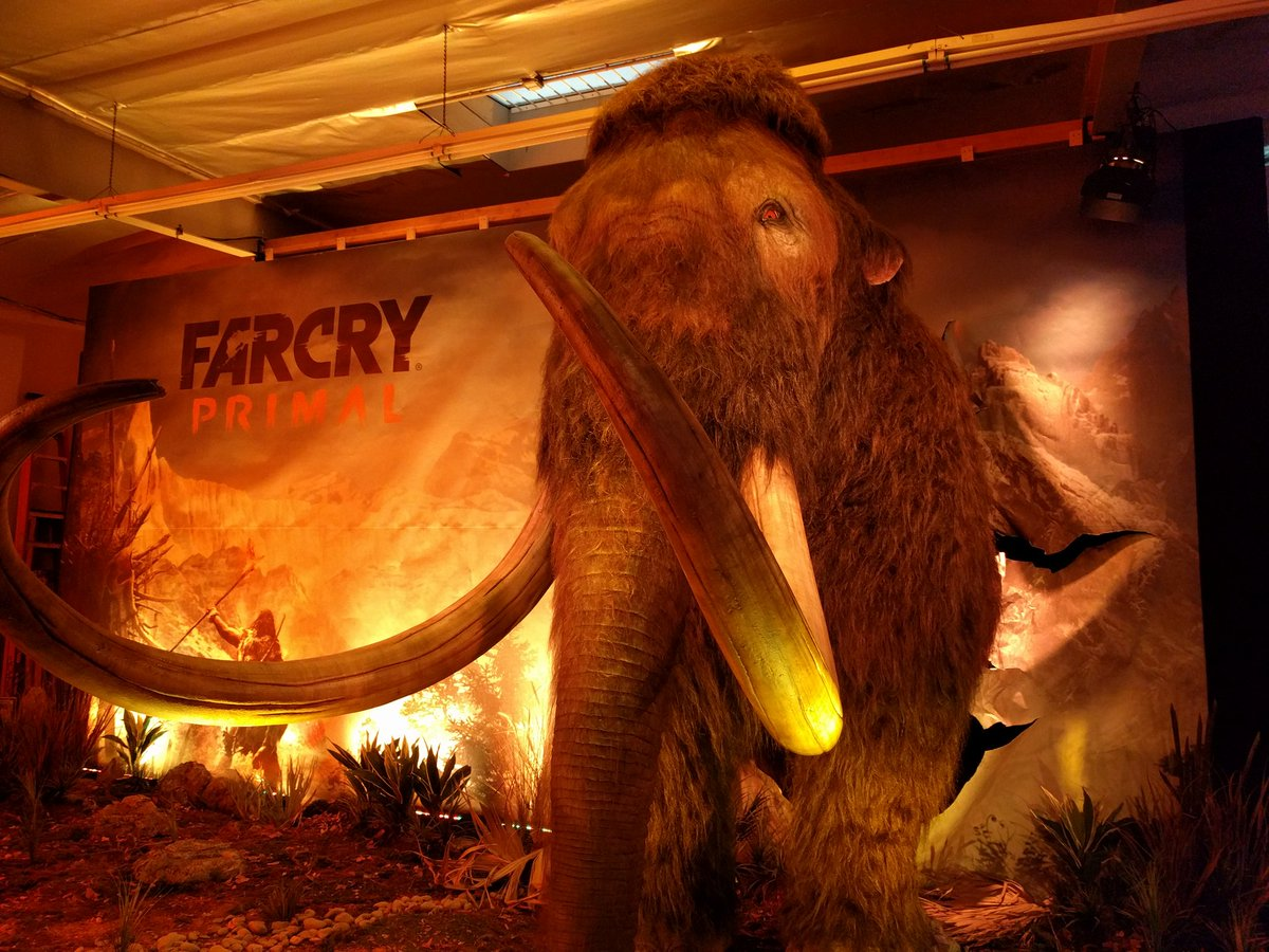 At the Farcry Primal event! https://t.co/Ypvaiu9KtL