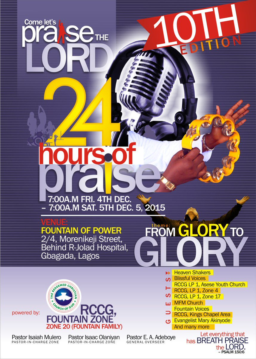 Media Tweets by RCCG FOUNTAIN ZONE (@RCCGfountain) | Twitter