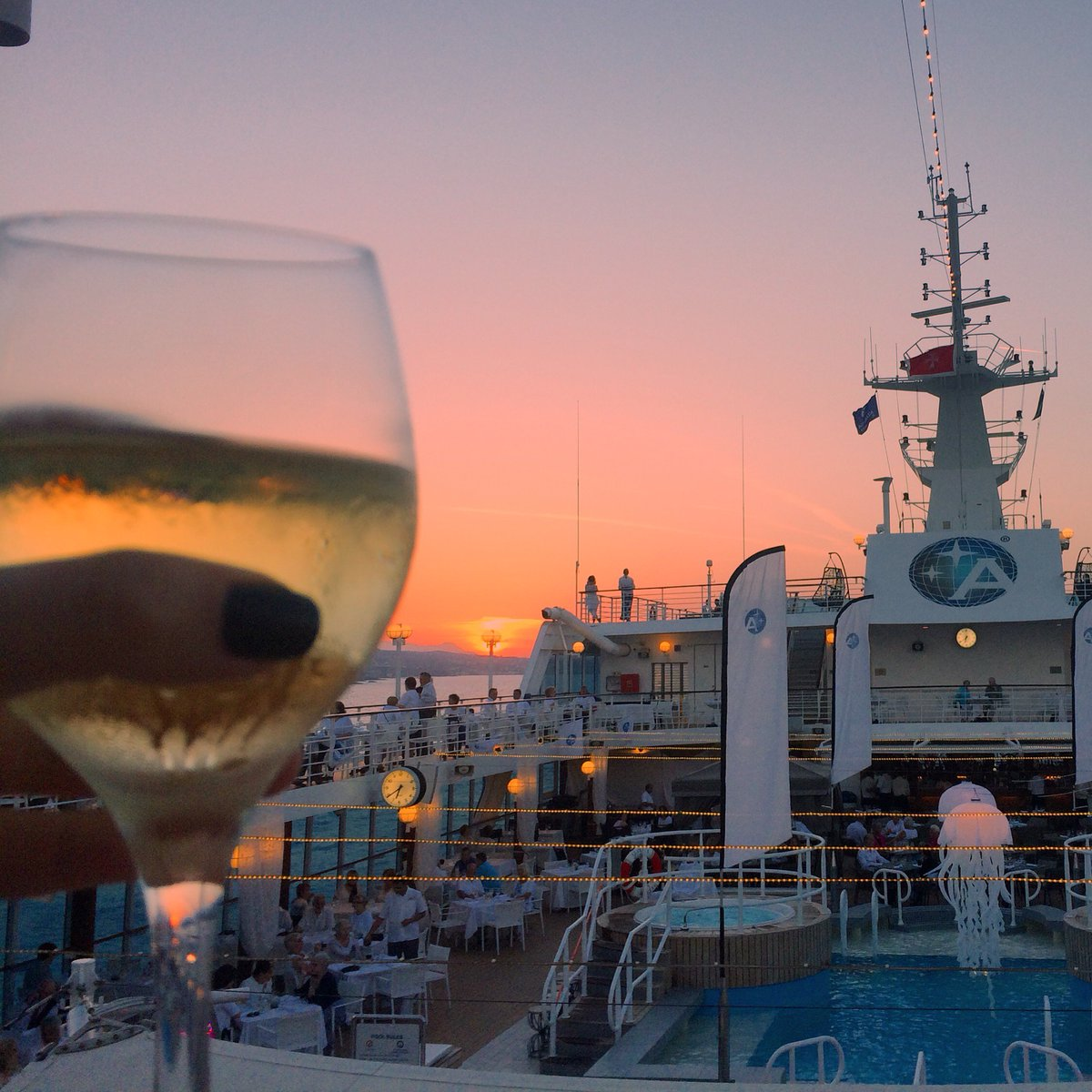 Hopefully next year! @AzamaraVoyages A8 Don't forget to pack outfit for our onboard White Night party! #CruiseChat https://t.co/advlDn6f8C