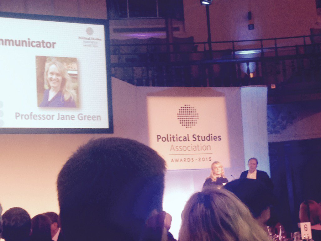 Thumbnail for Jane Green is PSA 'Research Communicator of the year'