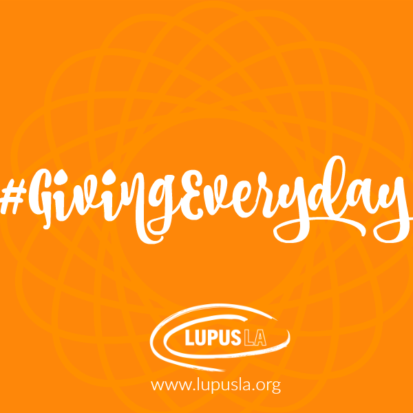 Join me & @LupusLA for #GivingTuesday as we kick-off the #GivingEveryday campaign! Look--> https://t.co/Jrh95CwazT https://t.co/bz9cyy1dYK