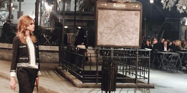 .@Chanel held a fabulous Roman runway show for Pre-Fall 2016: https://t.co/pnKeWqn0sc https://t.co/p7ygJeI3lC