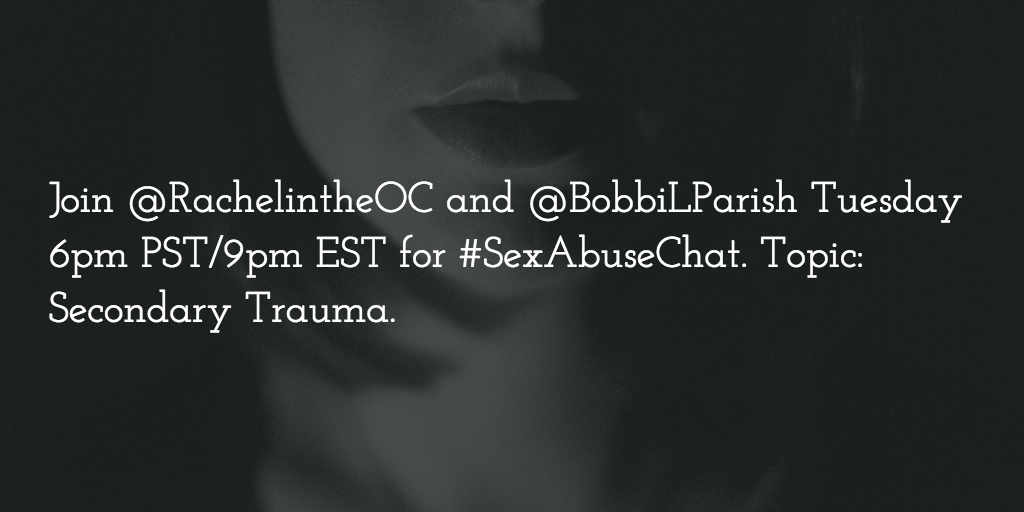 Thumbnail for #SexAbuseChat 12/1/2015 Secondary Trauma