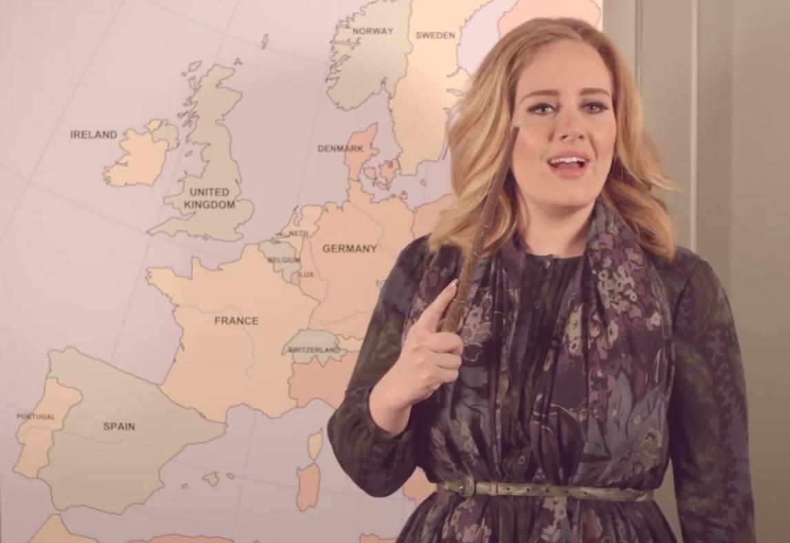 Adele Imitates Harry Potter as She Announces She's Going on Tour https://t.co/I1iQQKa6Ty https://t.co/vsolXeSHli