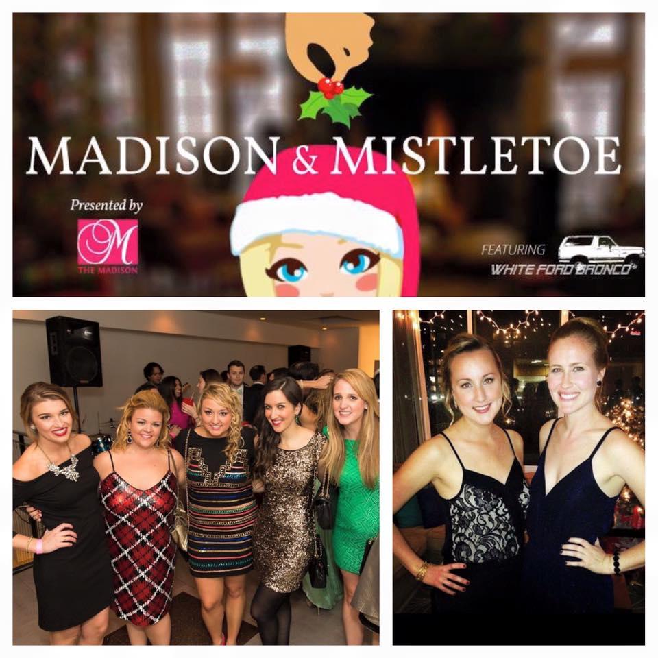 "Saturday: @TheMadisonofDC's host ""Madison & Mistletoe"" Holiday Party w/ @whitefordbronco https://t.co/onANZpuDul https://t.co/wMofZxGSLq"