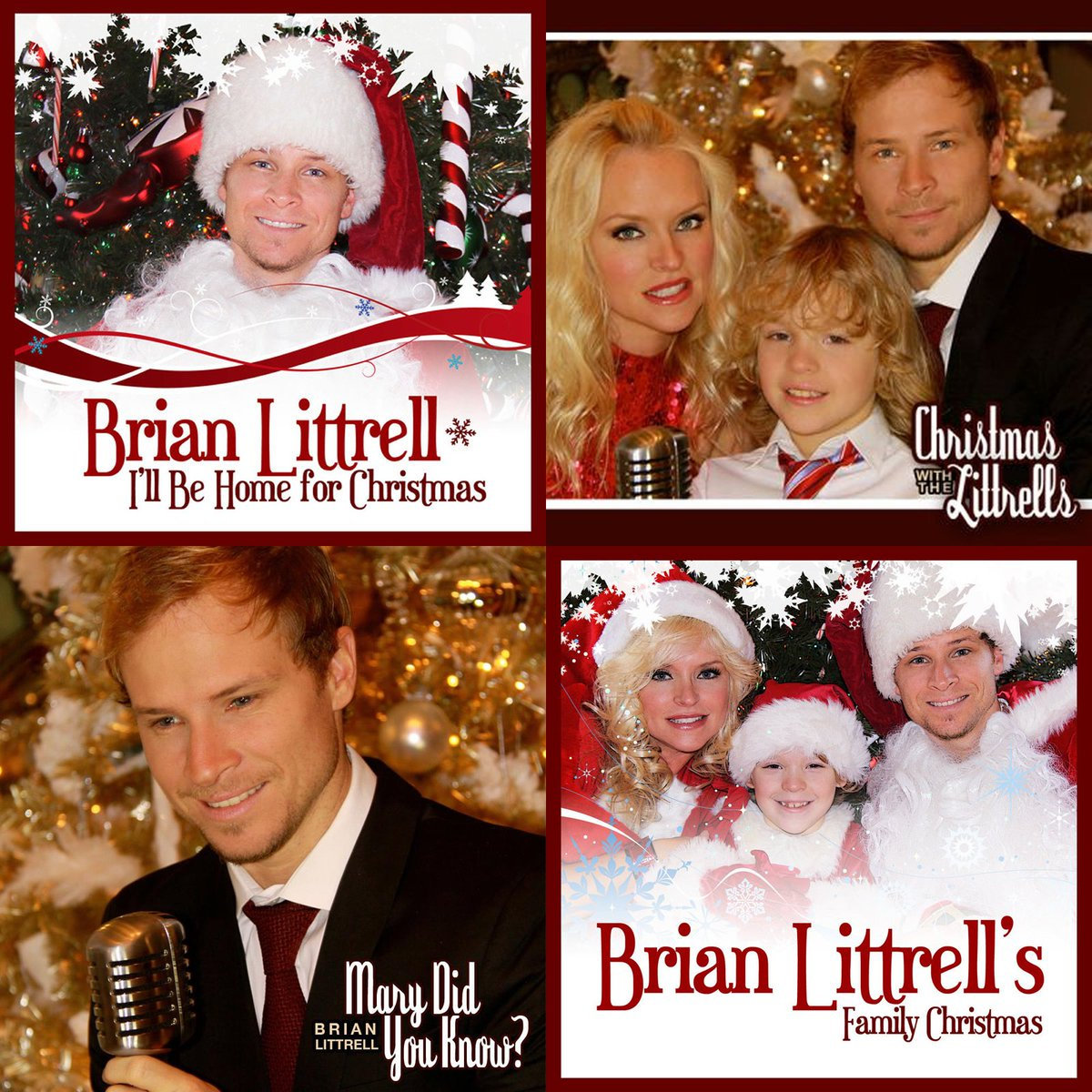 Get in the holiday spirit w/ the Littrell Family Christmas music! Download on iTunes here: https://t.co/rRKFDWQMxT https://t.co/a9JIKywlyk