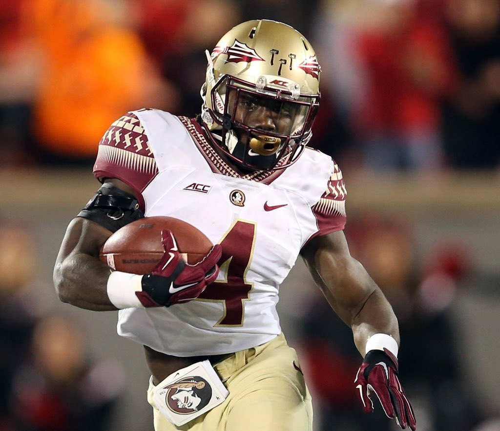 Retweet if you believe #Nole RB Dalvin Cook should be in New York for the Heisman ceremony. https://t.co/JcgzJh46hj