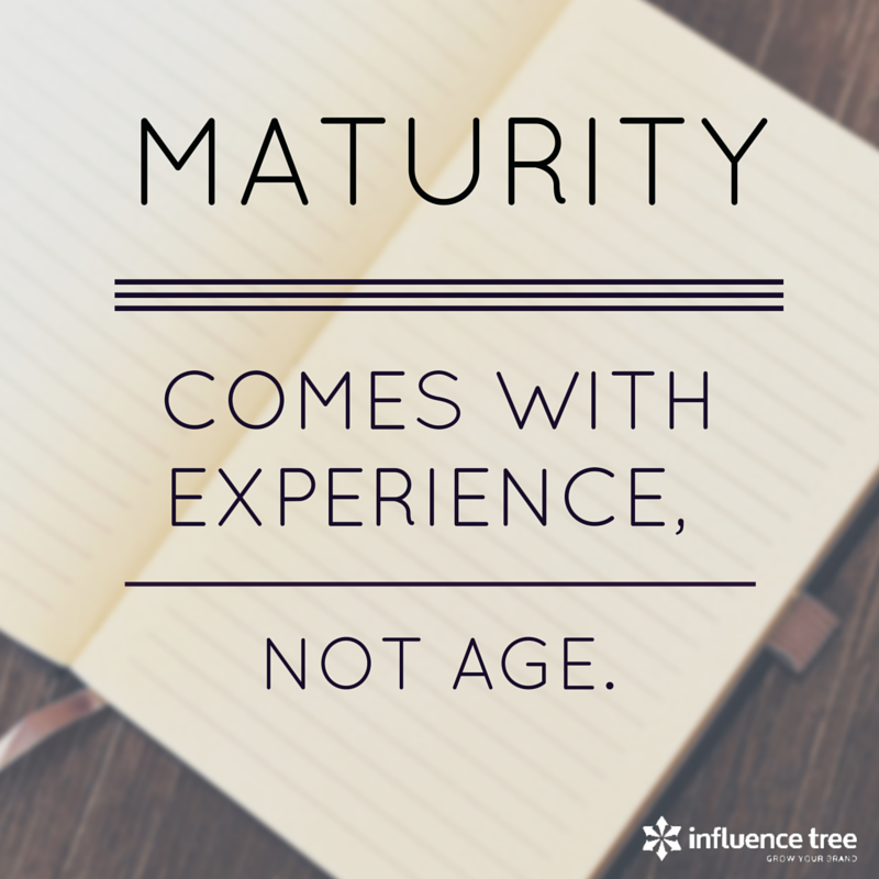 the meaning of maturity The essence of spiritual maturity does not relate to knowledge you gain or skills you acquire our goal, as believers in christ, is not to learn or to do things.