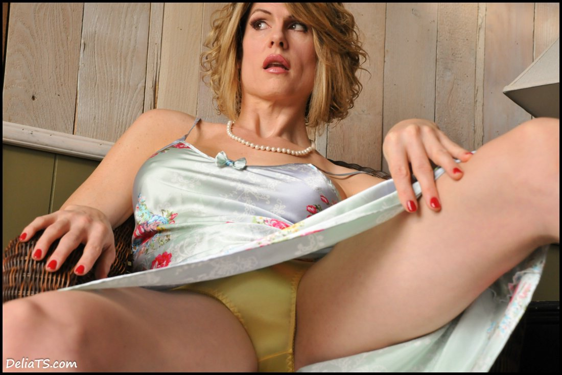 Are Upskirt milf satin panties