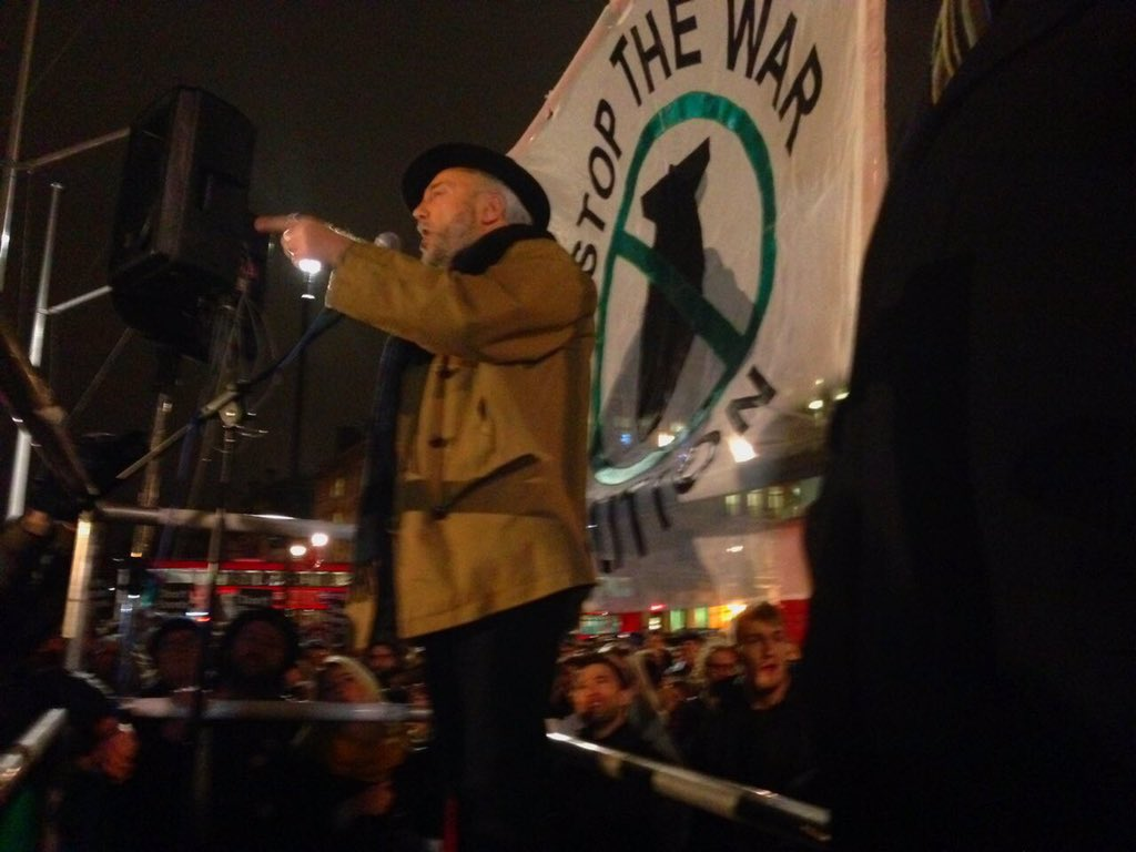 Image result for george galloway with lindsey german [picture