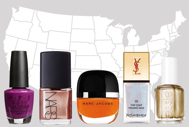 The most popular nail-polish color in every state: https://t.co/SZ7YAelP2u https://t.co/nBpNWRTH1S