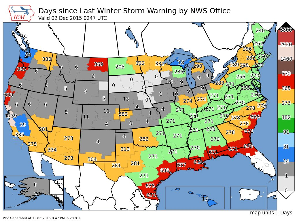 Climate Maps - Temps, Wind Chills, Heat Index, Snow, Precip ...