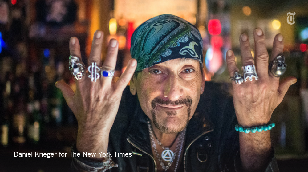 61-year-old punk rocker Handsome Dick Manitoba has been sober 33 years & a bar owner for 16. https://t.co/LKS8ujTHGU https://t.co/HYc41V5FWU