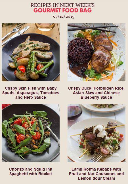 My food bag nz on twitter we have some gourmet food bags 832 pm 1 dec 2015 forumfinder Choice Image