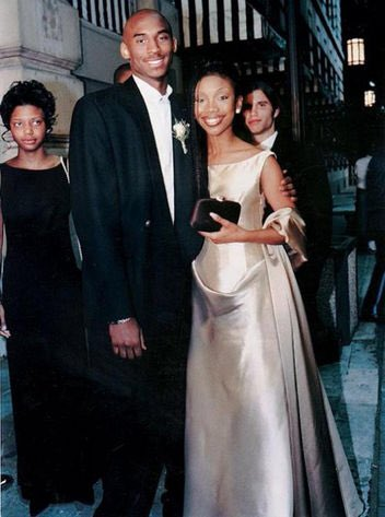 Let's not forget Kobe took Brandy to his senior prom
