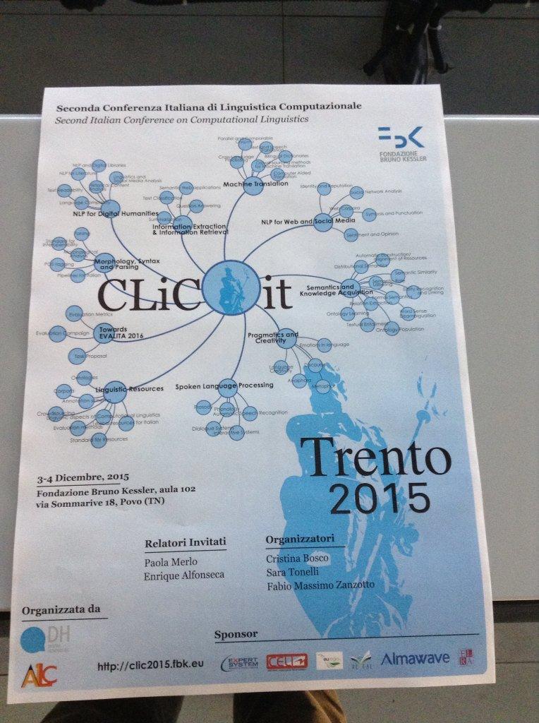 Preview of #conference poster! Anteprima del poster della conferenza! #clic2015 https://t.co/w9a7AmkBe4