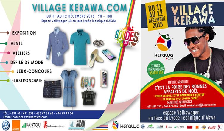 Cameroun : Douala accueille la 1ère édition de la foire « Village Kerawa » https://t.co/GzmHxgNYA1 https://t.co/opaBxR24PR