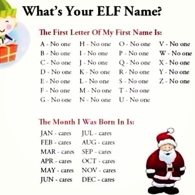 The Poke On Twitter Quot What S Your Elf Name Https T Co