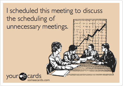 Meetings don't have to suck. Make your meeting count w/ killer strategies: https://t.co/Wn5b9cUg83 by @PeterBossio https://t.co/m4jtww86uJ