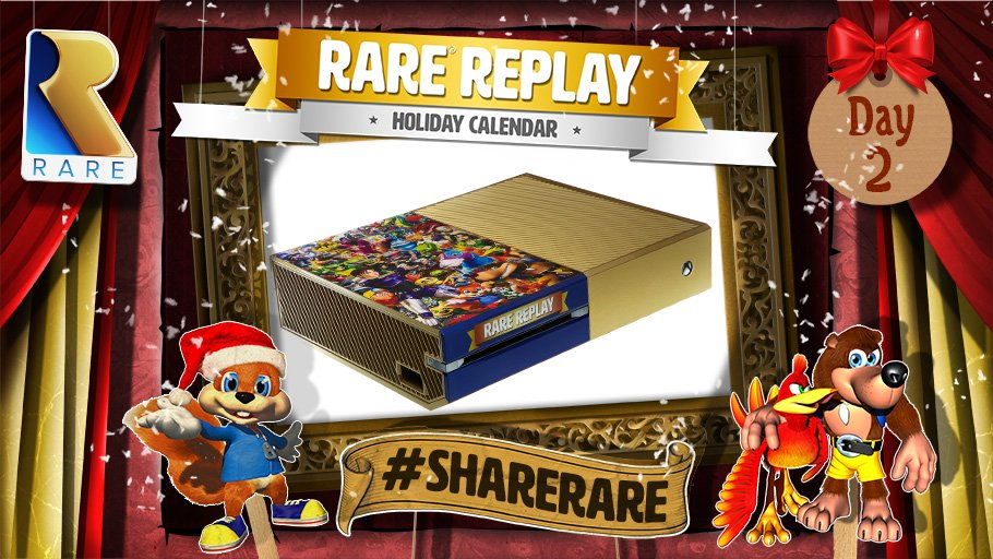 Win a custom #RareReplay Xbox One - follow & RT to enter! #ShareRare Terms & Conditions: https://t.co/Txk744V2Hp https://t.co/93QLW4DGD5