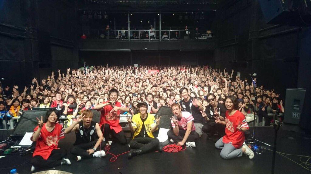 本日、福岡ロゴスに来てくれた皆様ありがとうございました! そして一緒にやってくれたSPYAIRに感謝です! https://t.co/pGvrp4WohP