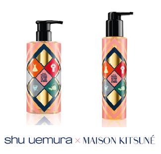 Om hebberig van te worden... Maison Kitsuné x Shu Uemura #shuuemura #maisonkitsune #hair #beauty https://t.co/oQH4dzd56S
