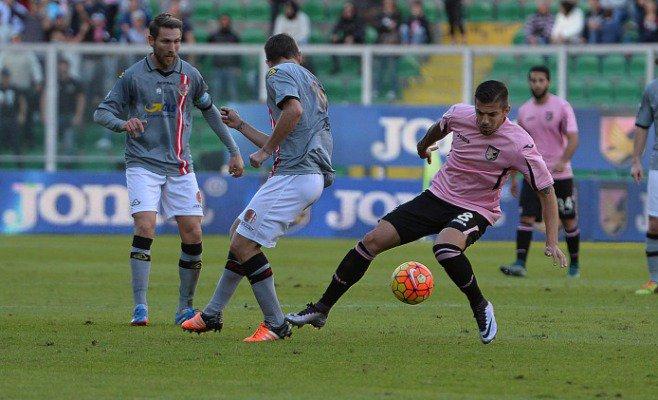 Trajkovski during the game; photo: Palermo