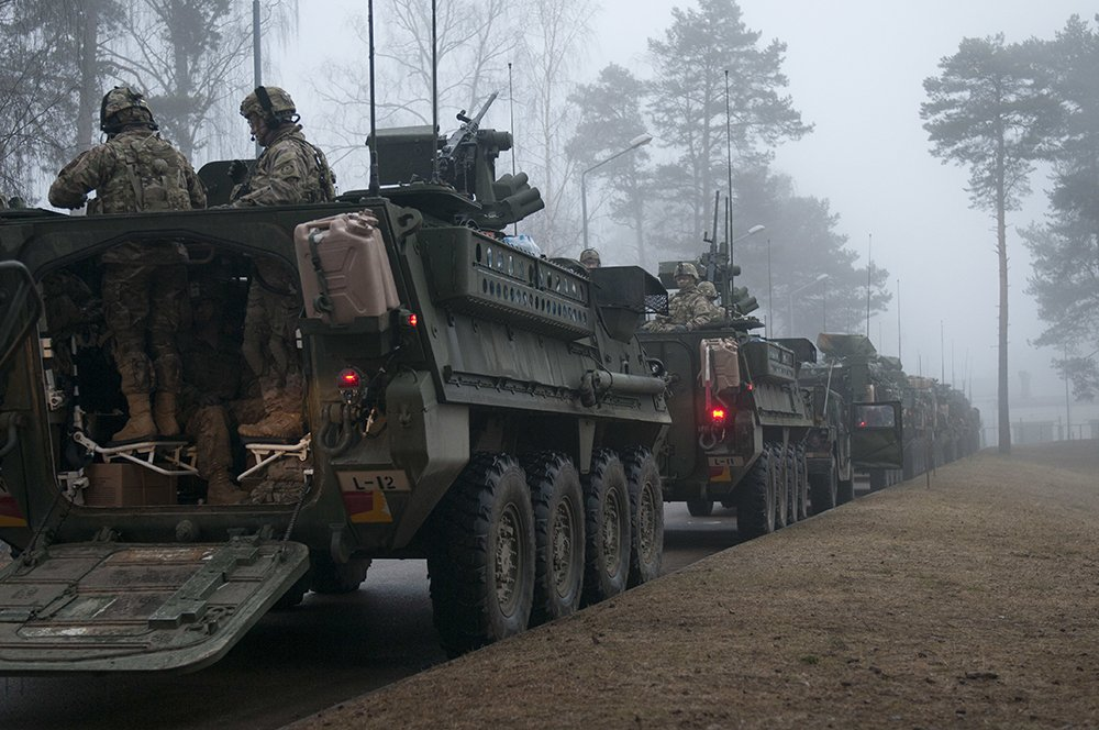 #USArmy begins forward positioning equipment in Eastern Europe: https://t.co/E91N4bOotd @USArmyEurope @US_EUCOM https://t.co/CMQNL8IxEB