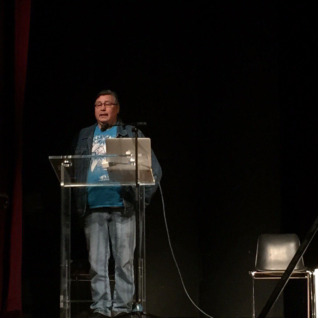 Ron Lameman from Beaver Lake Cree Nation launches #TheLeap Manifesto Workshop at Paris #COP21 https://t.co/uY2twUHljg