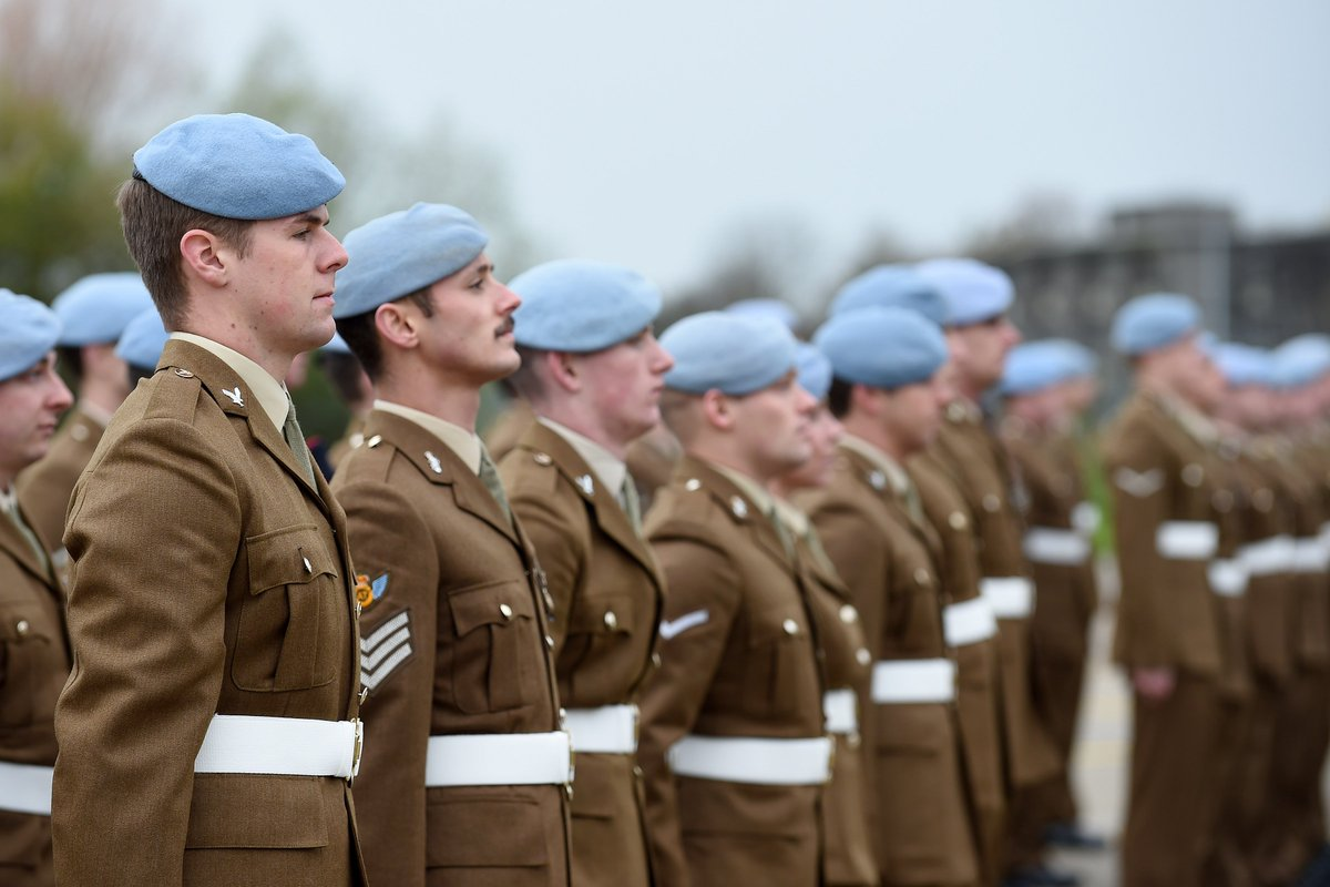 """British Army on Twitter: """"1 Regiment Army Air Corps receives the ..."""