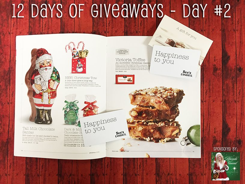 On the 2nd day of #12DaysOfGiveaways, we've got a sweet treat for you...$25 gift cards from @seescandies! RT to win! https://t.co/QOWrJpmo01