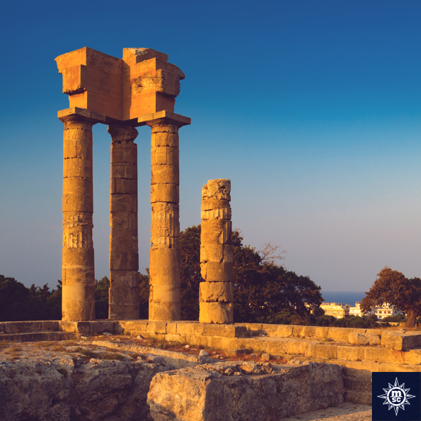 Discover the gorgeous island of Rhodes with our Med Super Deals https://t.co/MQo2MG9LxY #MSCFantasia  #cruisechat https://t.co/Jd4LzspIjJ