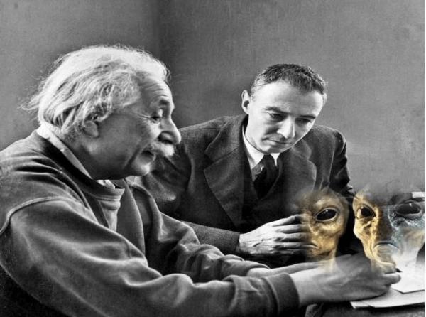 Alieni UFO: il documento segreto di Oppenheimer e Einstein