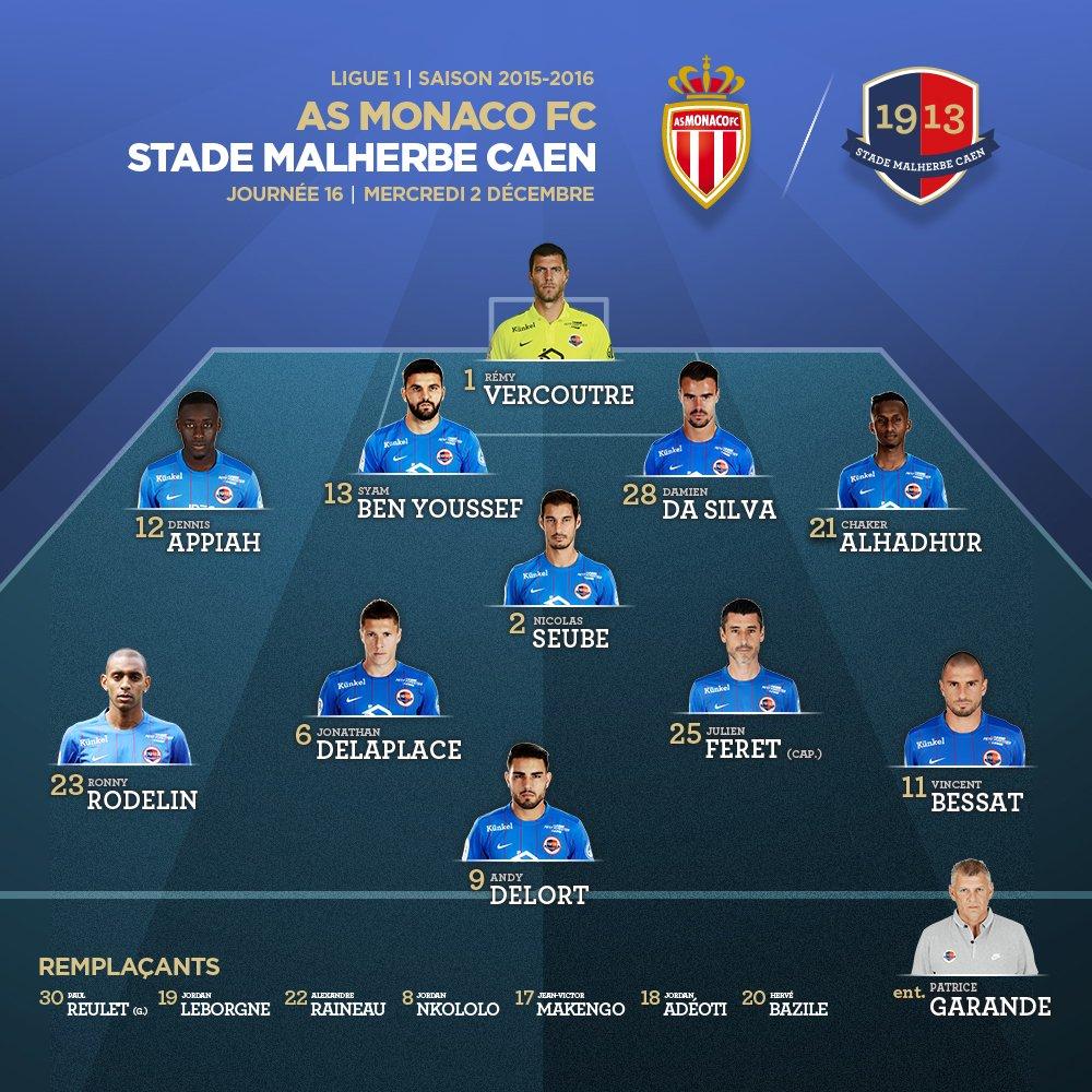 [16e journée de L1] AS Monaco 1-1 SM Caen  CVPFWJ1XIAAz7sa