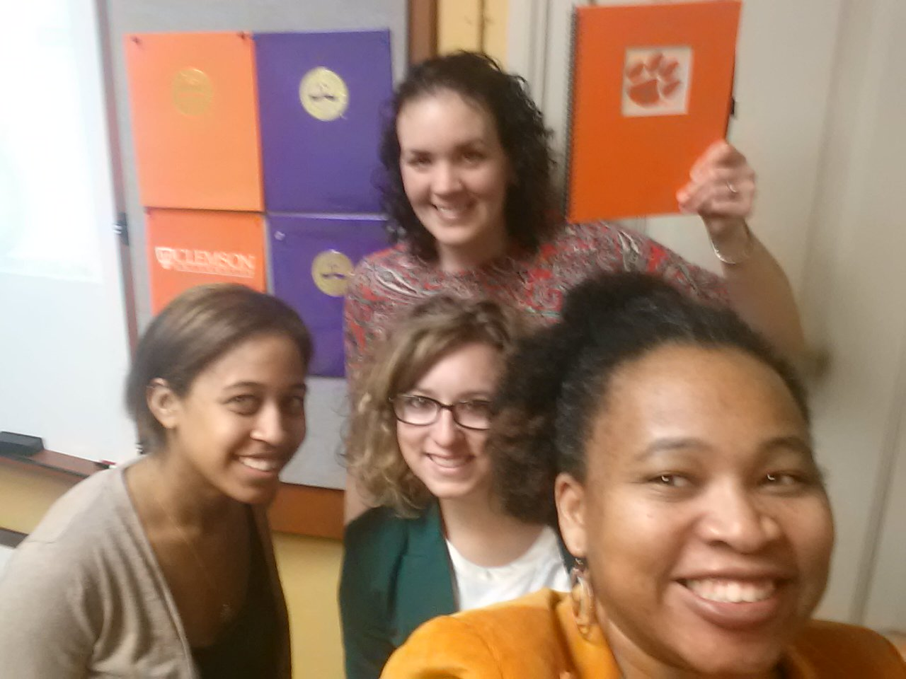 Excited to be attending #hesm15 with some of my #ClemsonFamily https://t.co/JW5sJPLyPV @karinejoly!  Hello from SC! https://t.co/i8L5B6G4CA