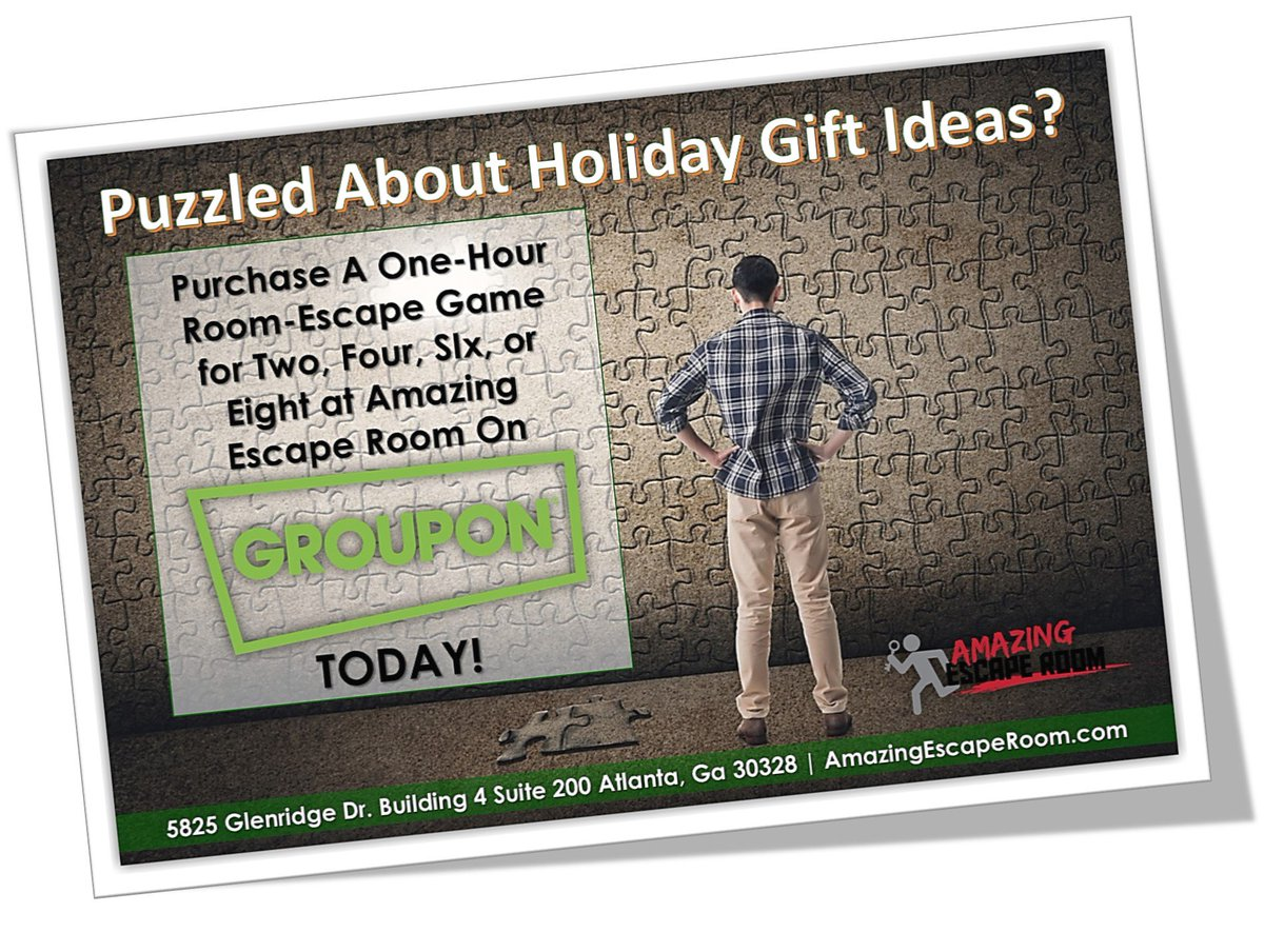 Mastermind Esc On Twitter Get Your Groupon Deal For Amazing Escape Room Of Sandy Springs Today Https T Co R8dnakyfuj 7syh63mvkh