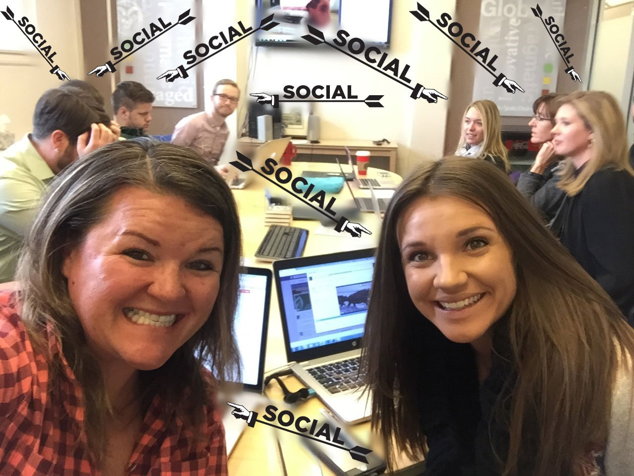 #CSUSocial getting even more (not to be confused with Evan Moore @evancmo) social. #HESM15 https://t.co/c7NdLtpIb4
