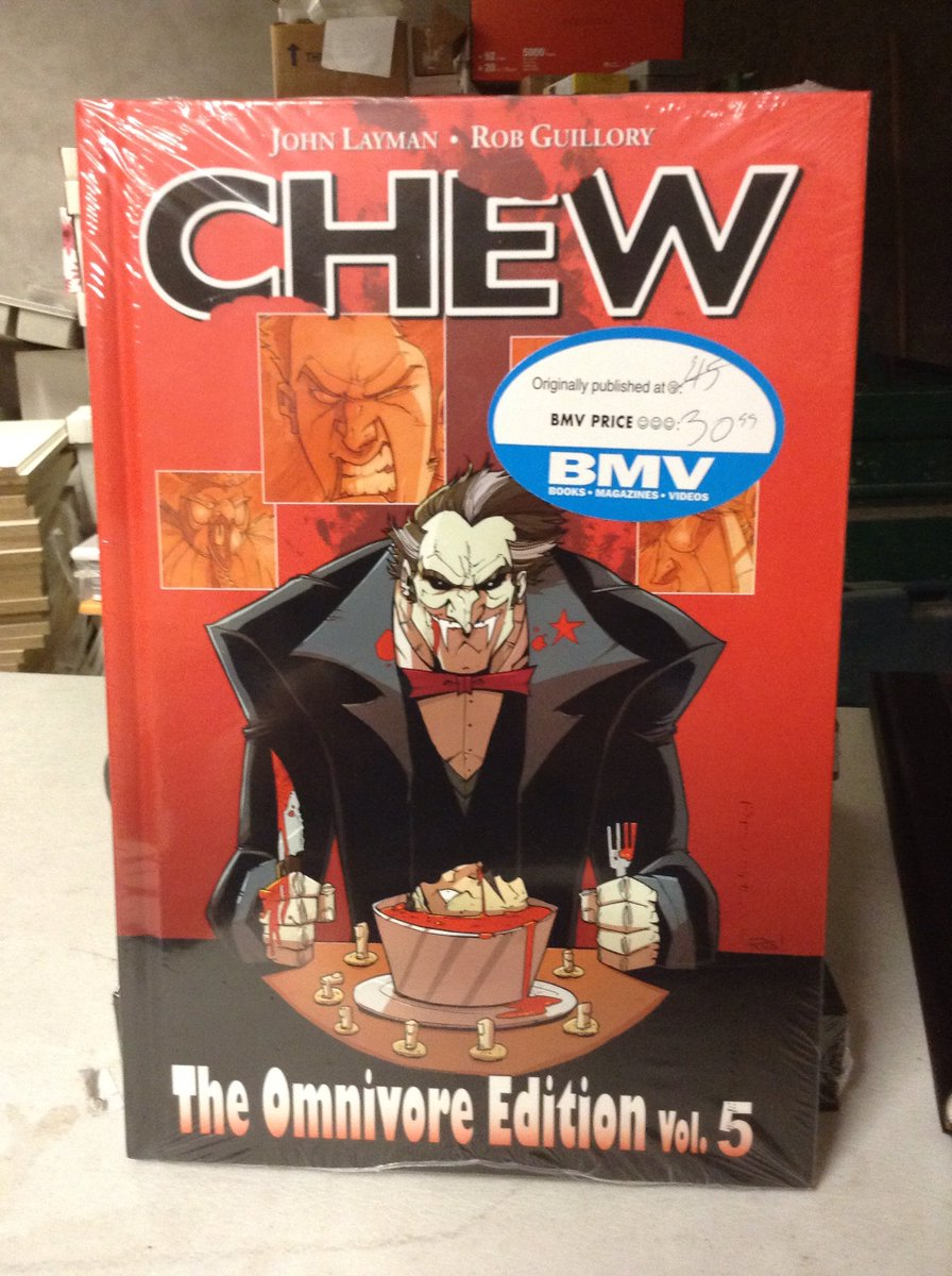 """#CHEW Omnivore edition vol 5 by #JohnLayman and @rob_guillory / #RATQUEENS  by @kurtisjwiebe https://t.co/z9g1wxRuN8"""""""