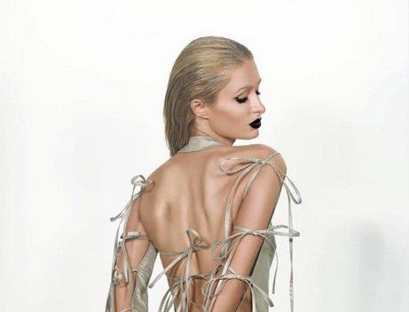Paris Hilton Channels Kim Kardashian Naked Paper Cover Shoot