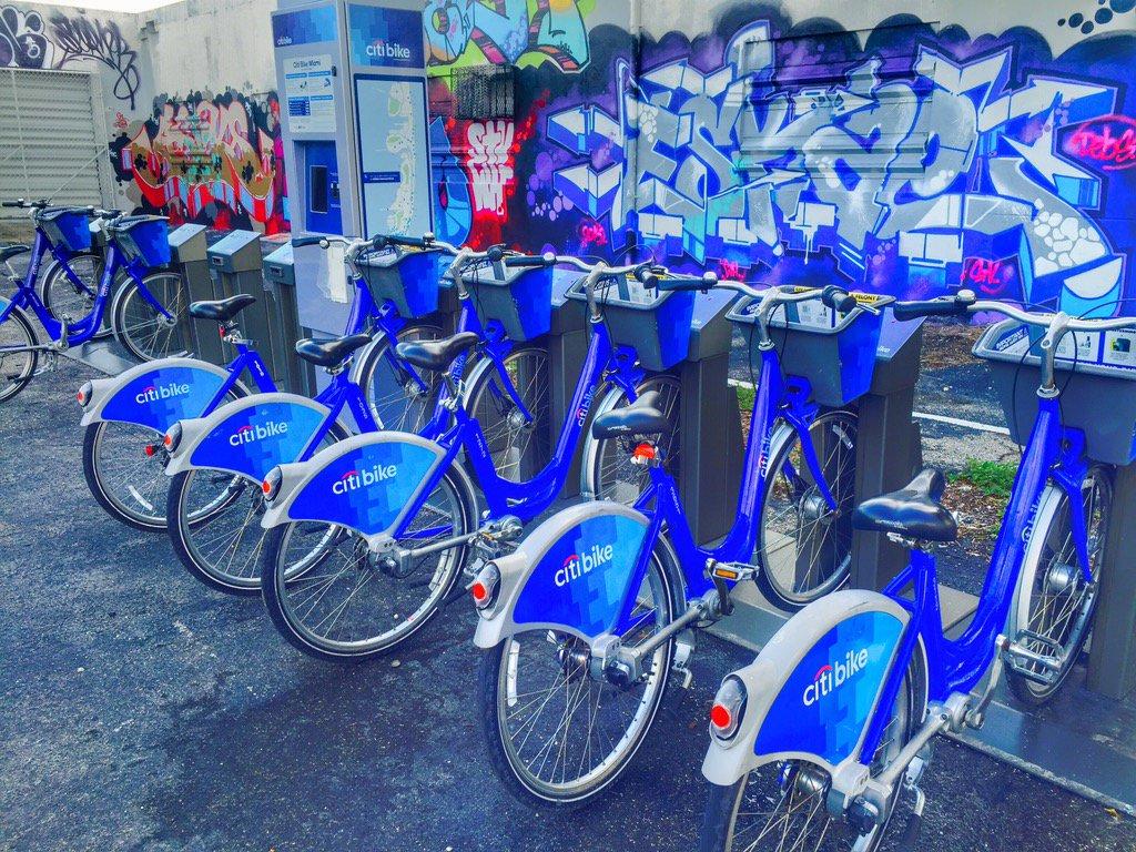 Citi Bike Miami >> Citi Bike Miami On Twitter New Citibike Station In Wynwood On Nw
