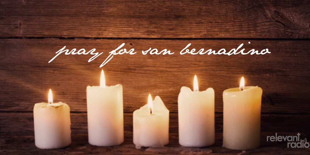 Please join us in praying for the victims of the #SanBernadino shooting https://t.co/cCi3BOBkTV