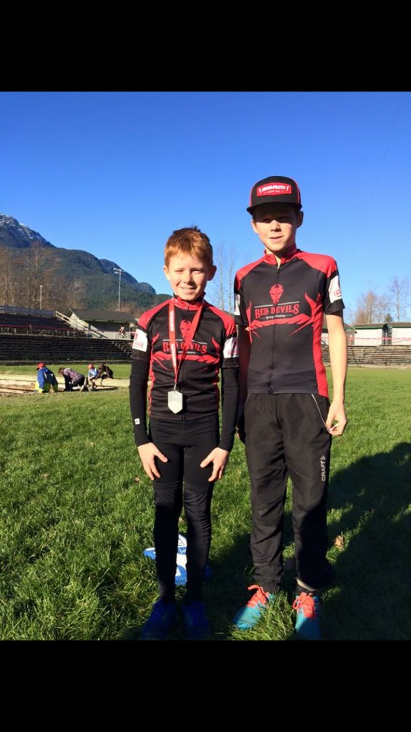 test Twitter Media - Jacob & Noah @CyclingBC cyclecross championships 4th & 3rd #youthcycling #reddevils https://t.co/VVsfNhyZo3