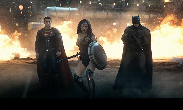 Batman v Superman trailer: Wonder Woman joins superhero duo