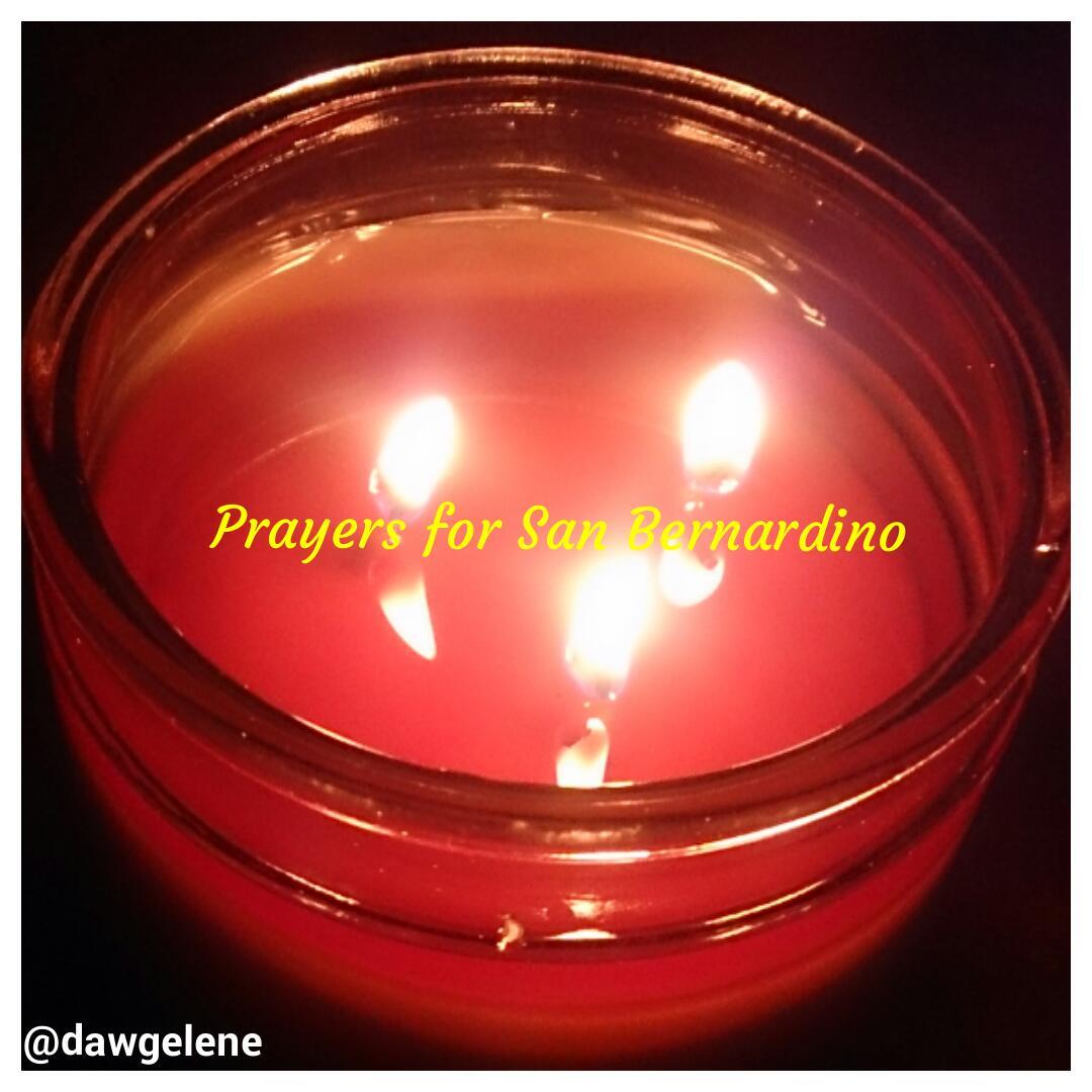 Sending many prayers to those affected by the tragedy in #SanBernadino  #prayforsanbernadino @ZondraHughes https://t.co/pcgh16i3sQ