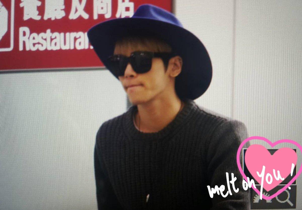 151203 Jonghyun @ Aeropuerto de Hong Kong.  CVRVy8GUsAEAE3C