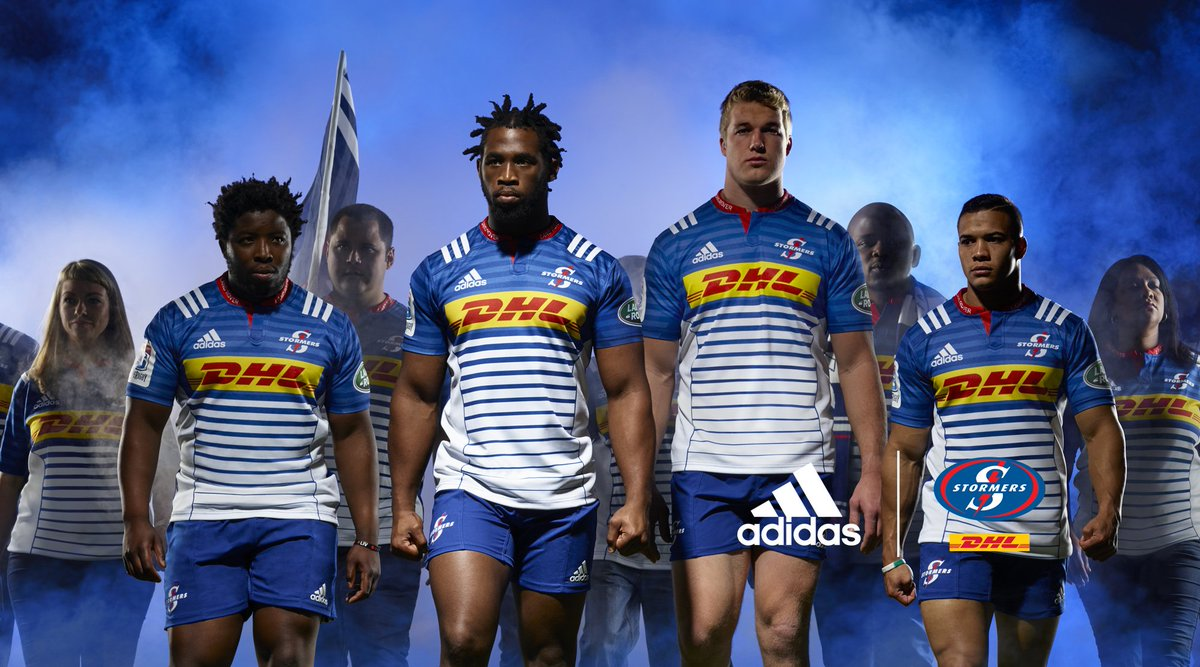 It's here: The new #DHLStormers kit. In 2016 it's about more than just the players. With the fans, we are the storm. https://t.co/xnRxKXMeR2